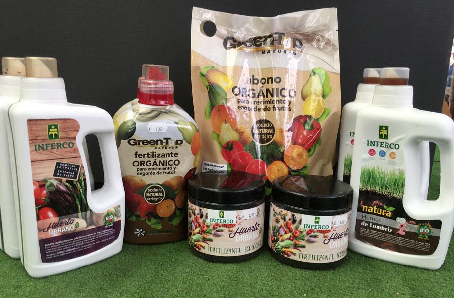 Productos ecologicos para tratar plantas