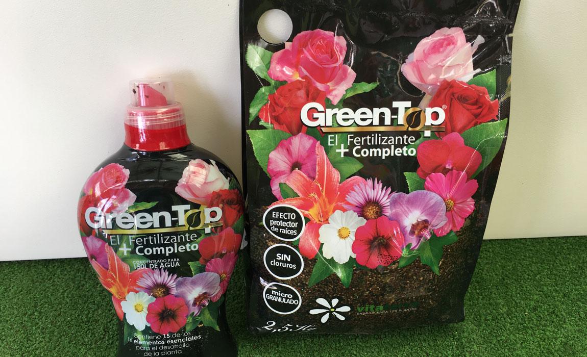 Fertilizantes y abonos estrella, Green Top