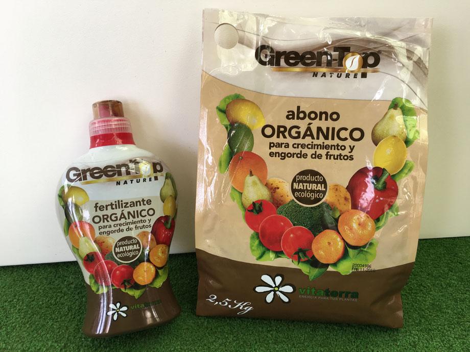 Fertilizante y abono Green Top ecológico