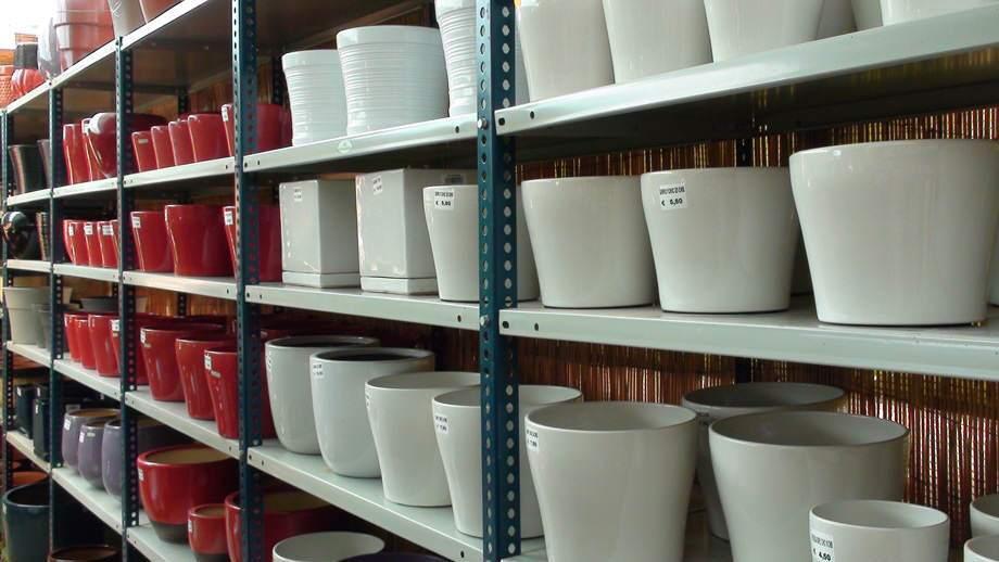 Macetas de cerámica en Albogarden