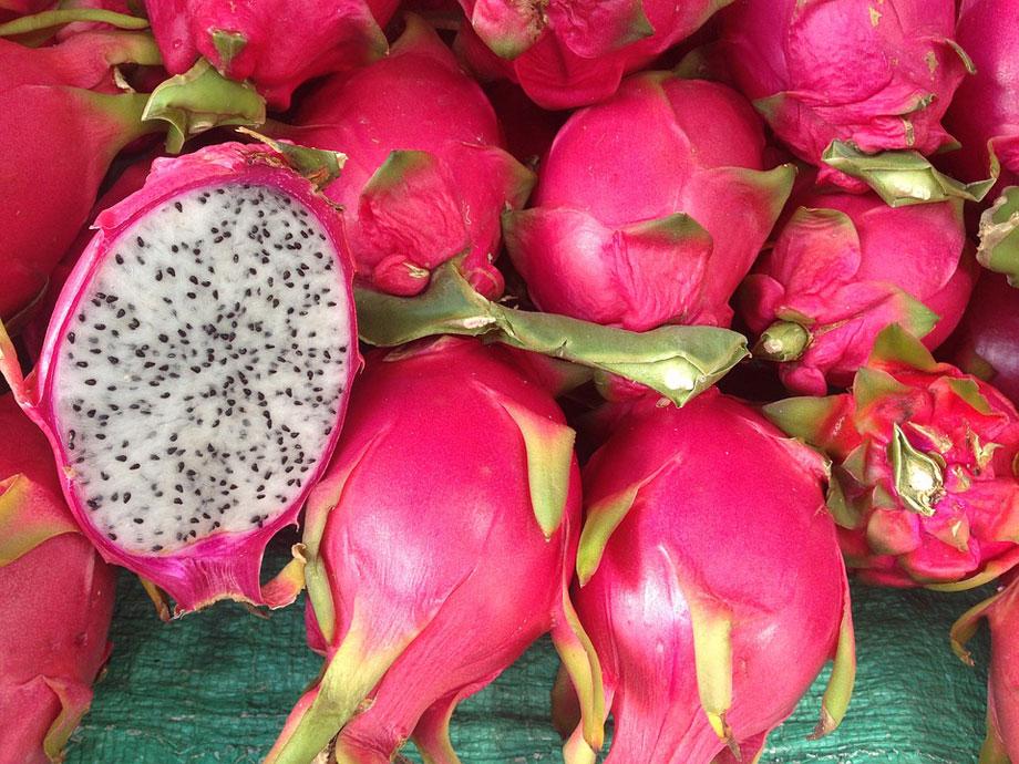 Fruto de pitahaya, la fruta del dragón